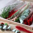 Lisa Angel Christmas Cut Dried Flowers Letterbox Gift