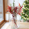 Lisa Angel Real Christmas Dried Flower Bouquet