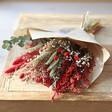 Lisa Angel Christmas Dried Flower Bouquet