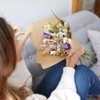 Lisa Angel Pastel Personalised Dried Flower Bouquet