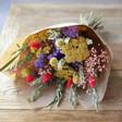 Lisa Angel Rainbow Brights Personalised Dried Flower Bouquet