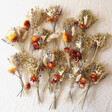 Lisa Angel Autumnal Dried Flower Wreath Centrepiece with Removable Posies