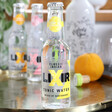Lisa Angel with Refreshing Lixir 20cl Bottle of Classic Indian Tonic Water