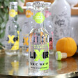 Lisa Angel with Refreshing Lixir 20cl Bottle of Elderflower and Lemon Tonic Water