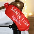 Lisa Angel with Mad Beauty 'Santa I Can Explain' Satin Sleep Mask