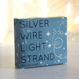 Unisex 30 Battery Powered LED Silver Wire String Lights