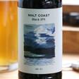 Lisa Angel Glass Bottle of Malt Coast Black IPA
