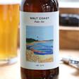 Lisa Angel Glass Bottle of Malt Coast Pale Ale