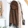 Lisa Angel Ladies' Animal Print Blanket Scarf