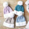 Lisa Angel Soft Knit Pom Pom Beanie Hats