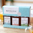 Lisa Angel with Noveltea Set of Three 25cl Teas Blended with Rum, Whisky & Gin
