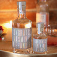 Lisa Angel Personalised 'Congratulations' Bottle of Granite North Gin