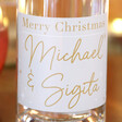 Personalised 50cl Bottle of 'Merry Christmas' Granite North Gin