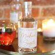 Lisa Angel Personalised 50cl Bottle of 'Merry Christmas' Granite North Gin