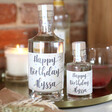 Lisa Angel Personalised 'Happy Birthday' Bottle of Granite North Gin
