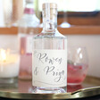 Lisa Angel 50cl Personalised Names Bottle of Granite North Gin