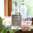 Lisa Angel 50cl Personalised 'New Home' Bottle of Granite North Gin