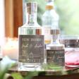 Lisa Angel Personalised 'New Home' Bottle of Granite North Gin