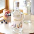 Lisa Angel Large Personalised Wildflower Bottle of Granite North Gin