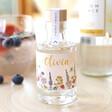 Lisa Angel Small Personalised Wildflower Bottle of Granite North Gin