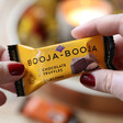 Lisa Angel with Dairy Free Booja-Booja Pack of 2 Vegan Almond Salted Caramel Truffles