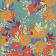 Lisa Angel Powder Autumn Floral Print Scarf