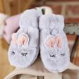 Lisa Angel Powder Children's Fluffy Bunny Mittens