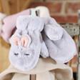 Lisa Angel Cosy Powder Children's Fluffy Bunny Mittens