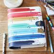Lisa Angel Cute Carpe Diem Rainbow Personal Planner