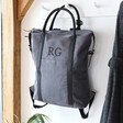 Lisa Angel Unisex Personalised Canvas Urban Utility Backpack