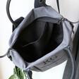 Lisa Angel Spacious Personalised Canvas Urban Utility Backpack