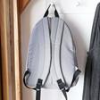 Lisa Angel Personalised Recycled Grey Backpack