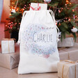 Lisa Angel Children's Personalised Toy Surprise Small Drawstring Christmas Sack