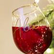 Lisa Angel Ladies' Personalised Sass & Belle Christmas Cheer Red Wine Baubles