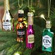 Adults Sass & Belle Set of 4 Mini Christmas Joy Baubles