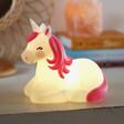 Lisa Angel with Sass & Belle Unicorn Night Light