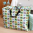Lisa Angel Extra Large Dinosaur Print Storage Bag