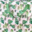 Lisa Angel Recycled Extra Large Pink Botanical Print Storage Bag
