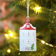 Lisa Angel House Decoration from Set of Three Metal Christmas Hanging Decorations