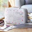 Lisa Angel Ladies' Personalised Postcard Rectangular Crossbody Bag