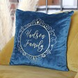 Lisa Angel Ladies' Personalised Names Square Velvet Cushion