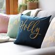 Lisa Angel Personalised Square Velvet Cushions