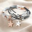 Lisa Angel Ladies' Personalised Multi-Strand Star Bracelet