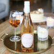 Lisa Angel Printed Personalised Autumn Wreath Bottle of Wine