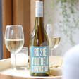 Lisa Angel Personalised Colourful 'Superstar' Bottle of Wine