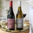Lisa Angel Personalised Date Bottle of Wine