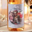 Lisa Angel Ladies' Personalised Mum 'Your Photo' Bottle of Wine