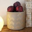 Ladies' Ceramic Gold Shell Planter