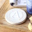 Women's Ceramic Initial 'A' Coaster