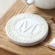 Unisex Ceramic Initial 'M' Coaster
